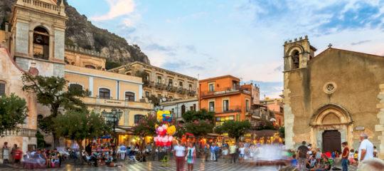 Partir à Taormina en Sicile